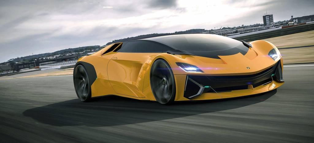 El Lamborghini Vega es el sueño de un nuevo deportivo híbrido por debajo del Lamborghini Huracán