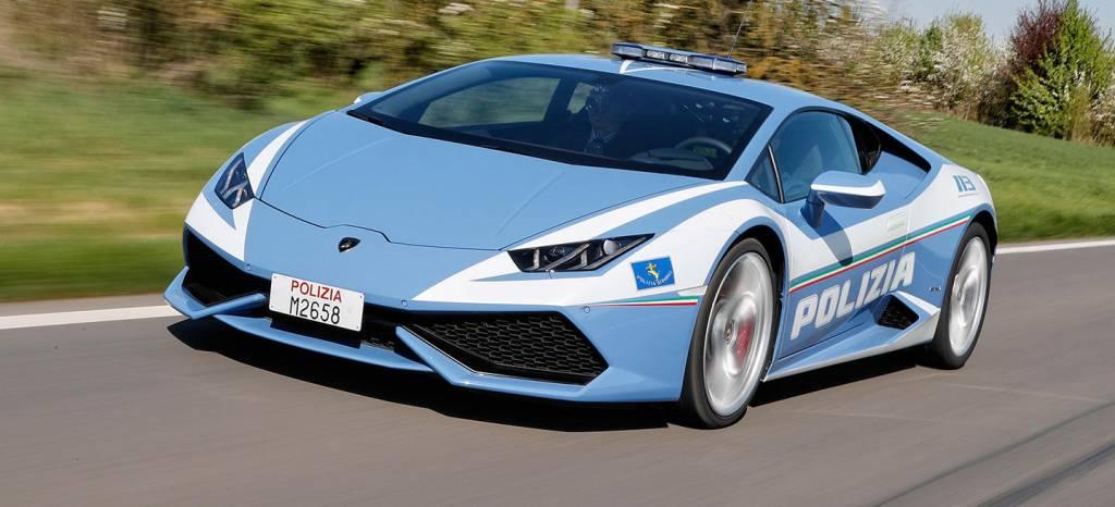 Sobredosis de potencia: así es el nuevo Lamborghini Huracán de la policía de Roma
