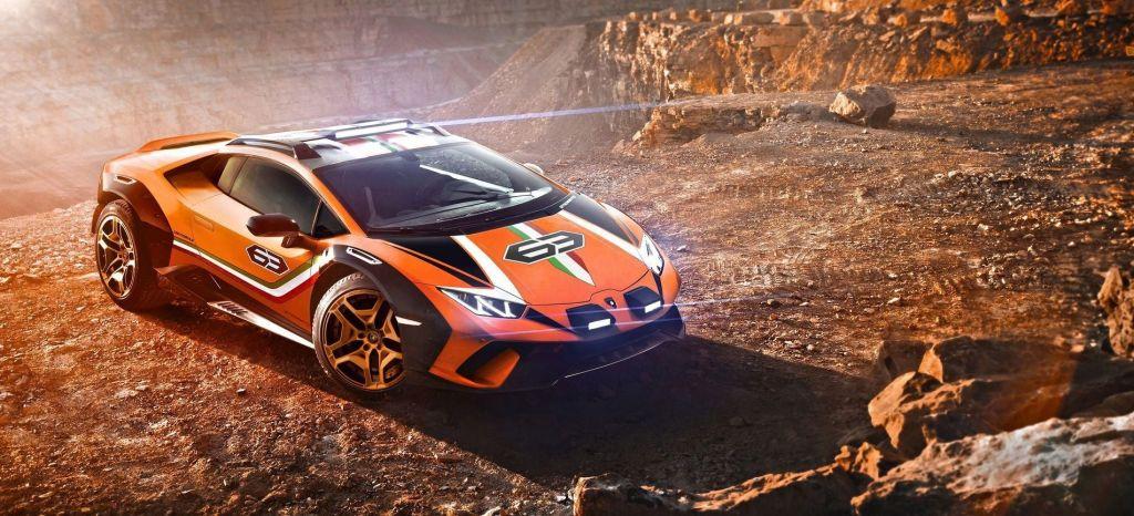 Lamborghini Huracan Sterrato Concept P thumbnail