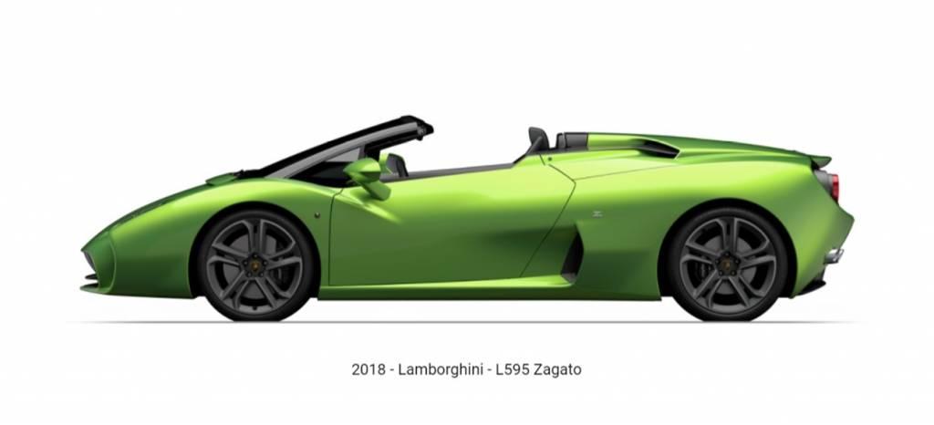 Sorpresa a la vista: el esperado Lamborghini 595 Zagato Roadster está en camino