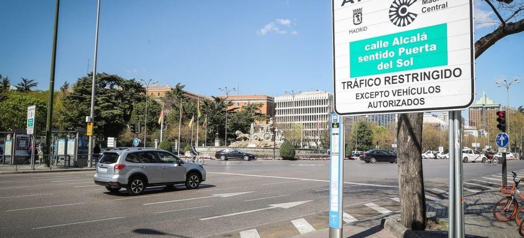 """Madrid Central """"se infla"""" a sanciones: de 7.000 multas en abril a más de 120.000 en octubre"""