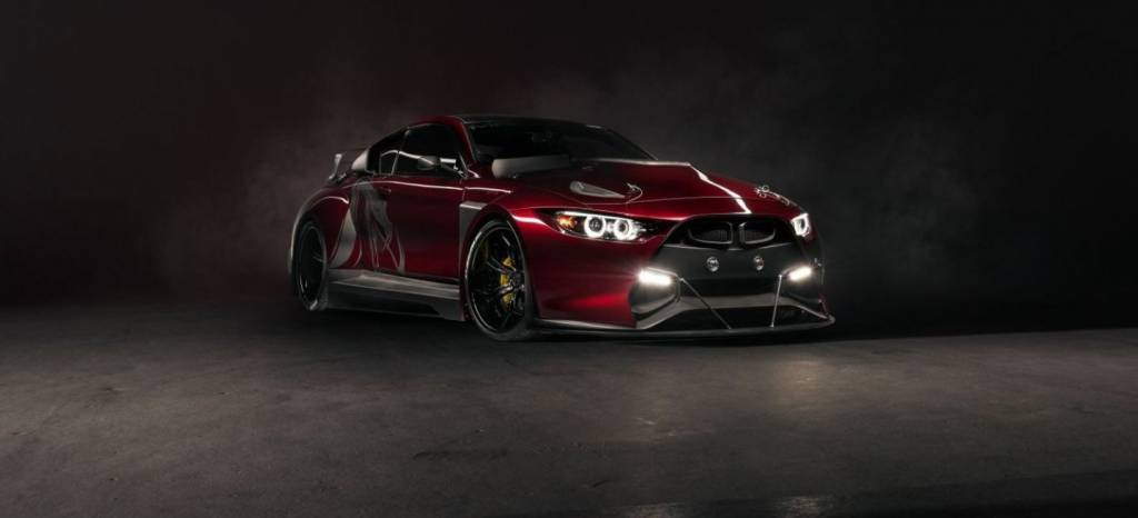 Mamba GT3 Street: así es el BMW M4 más salvaje que has visto nunca
