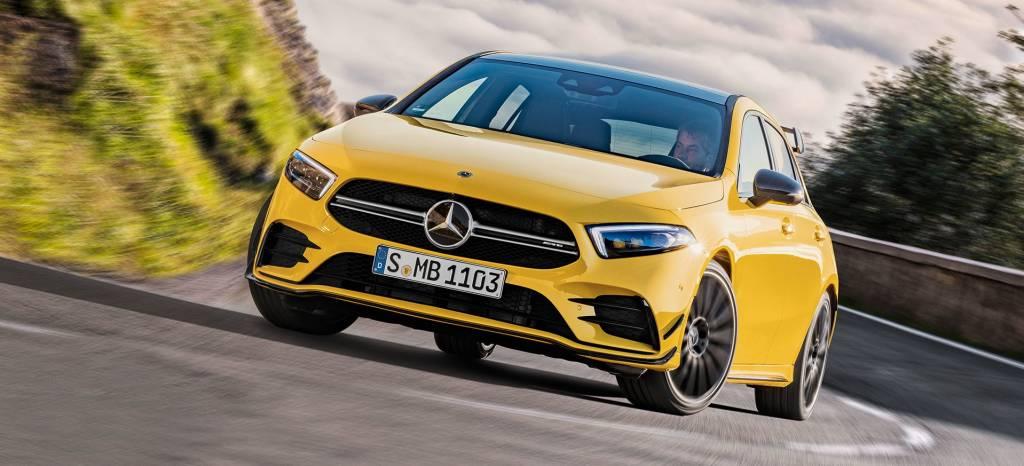 El Mercedes Clase A más potente y deportivo está preparado para el Salón de Ginebra