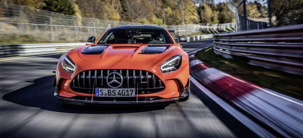 Mercedes Amg Gt Black Series Schnellstes Serienfahrzeug Auf Der Nürburgring Nordschleife Mercedes Amg Gt Black Series Is Fastest Series Production Car On The Nürburgring Nordschleife thumbnail