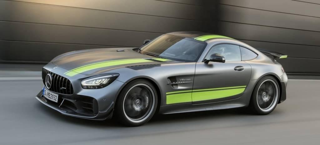 Mercedes-AMG GT R PRO: extra de chuches para ser el rey en los Track Days