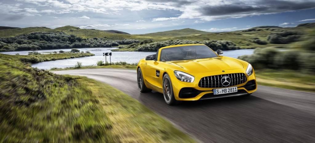 AMG está de enhorabuena: llega el Mercedes-AMG GT S Roadster a la familia de Affalterbach