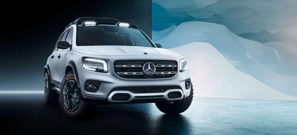 Mercedes ya nos avanza el propósito del nuevo GLB, ser una navaja suiza