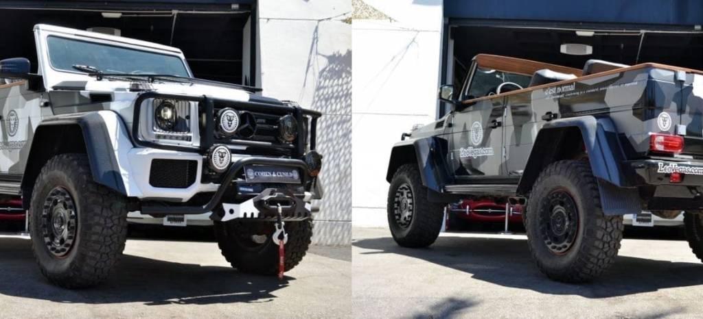 """Por 699.000 euros puedes hacerte con el último """"juguete"""" de Jon Olsson, el Mercedes G500 4×4² Cabrio"""
