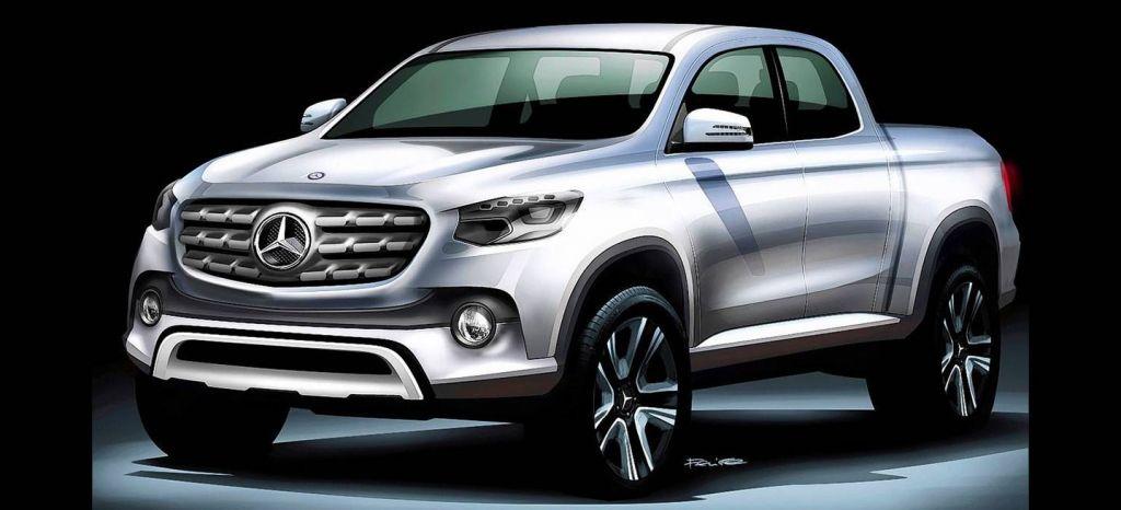 El pick-up de Mercedes-Benz se presentará la semana que viene