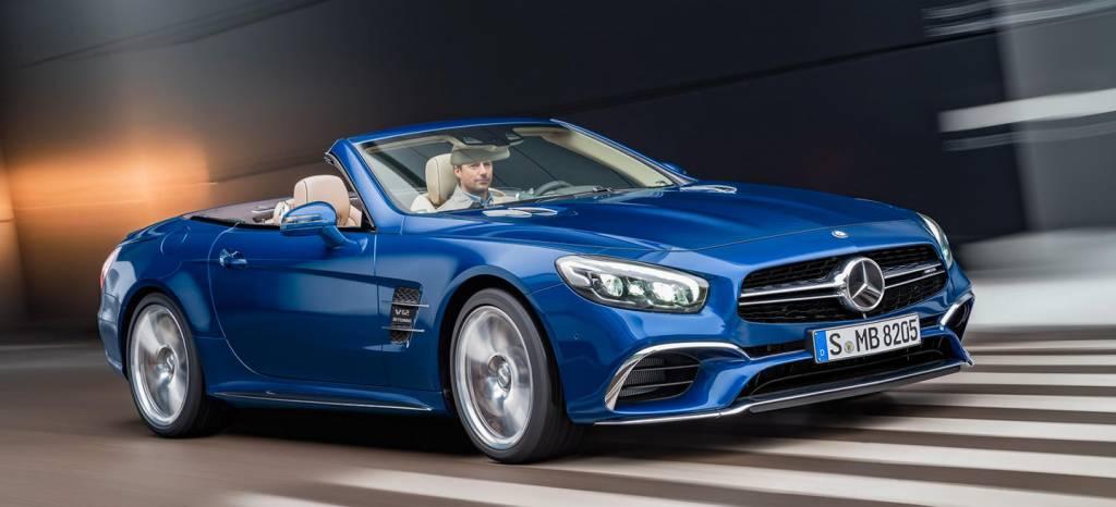 ¡Filtrado! El nuevo Mercedes SL 2016, con todo lujo de detalles, en 32 imágenes