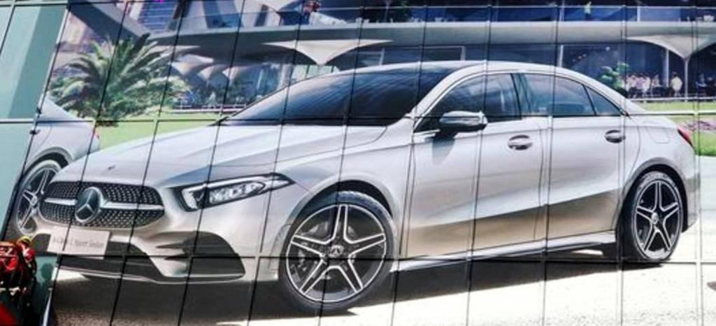 Saluda, antes de tiempo, al nuevo Mercedes Clase A Sedán