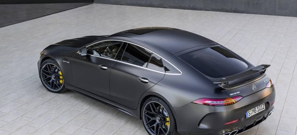 Descubierto el pecado de Mercedes: el AMG GT de 4 puertas está basado en el Clase E familiar