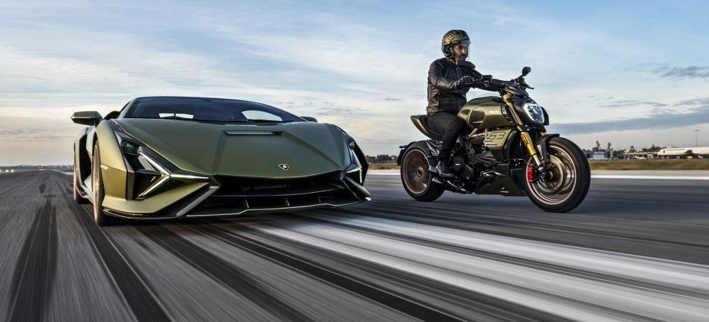 Moto Ducati Diavel Lamborghini 61 thumbnail