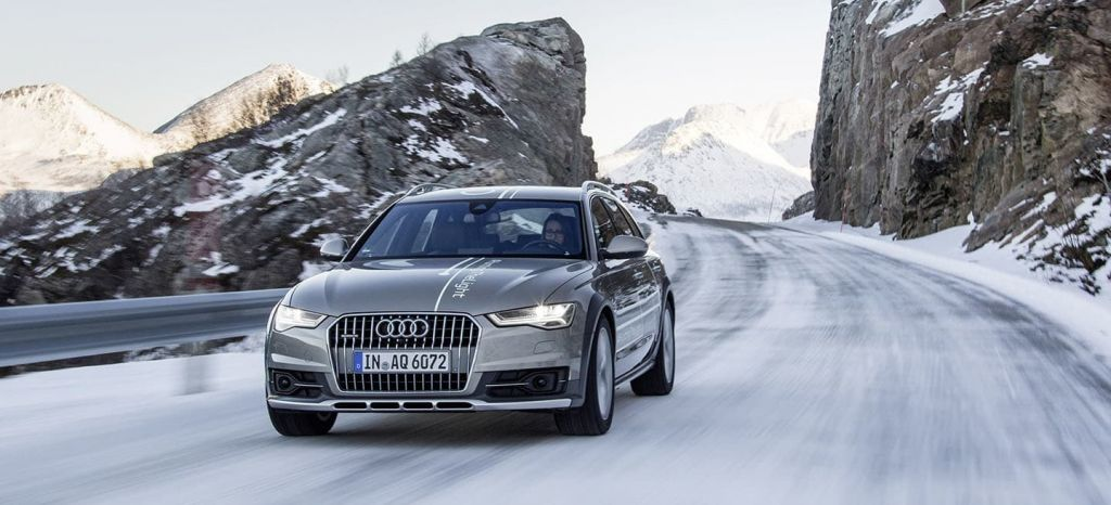 #huntingthelight With Matrix Led Technology In The Audi A6 Allro thumbnail