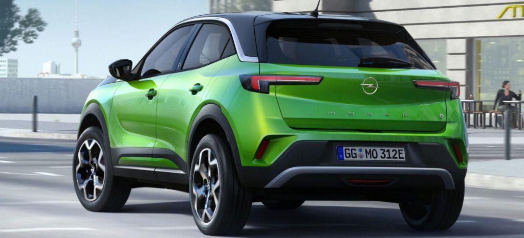Opel Mokka E 2020 Verde 06 thumbnail