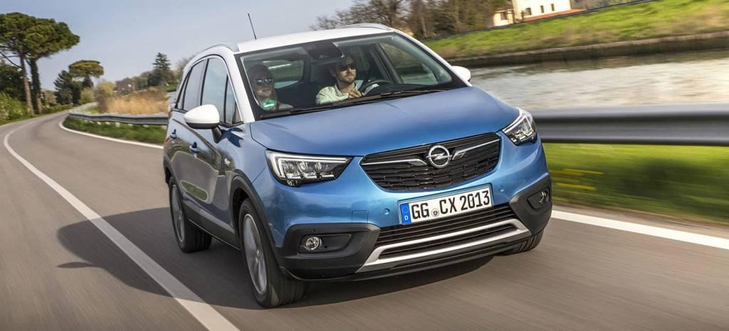 El Opel Crossland X estrena versión a gas, más eficiente y ahorrador que el diésel