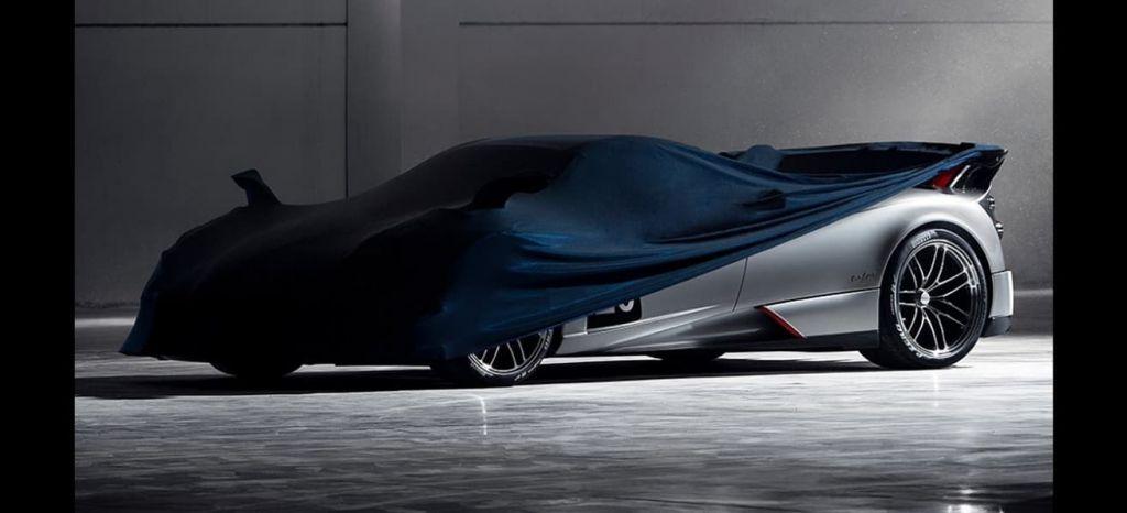 Pagani calienta motores: el Huayra Roadster BC está en camino