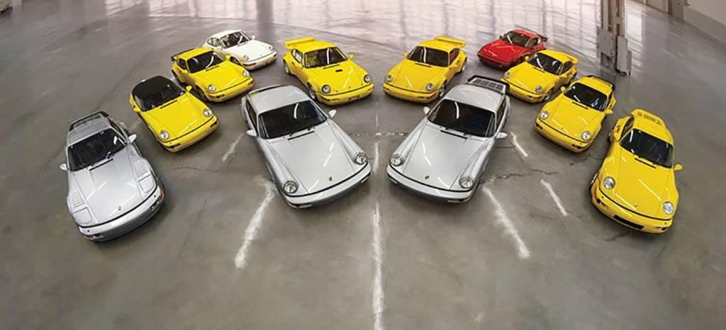 Si te gusta el Porsche 911 (964) esta es tu oportunidad de llevártelos todos en una misma subasta