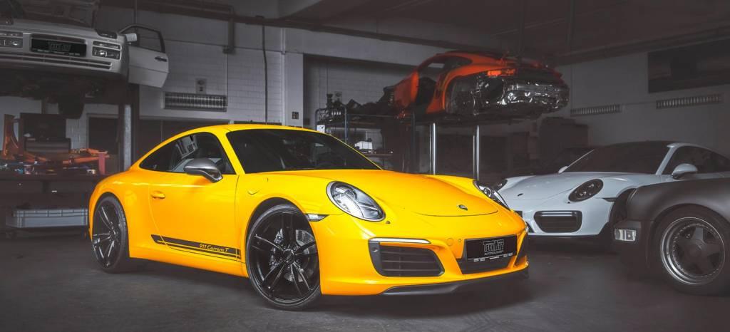 Tu Porsche 911 Carrera T puede tener ahora 60 CV más gracias a TechArt