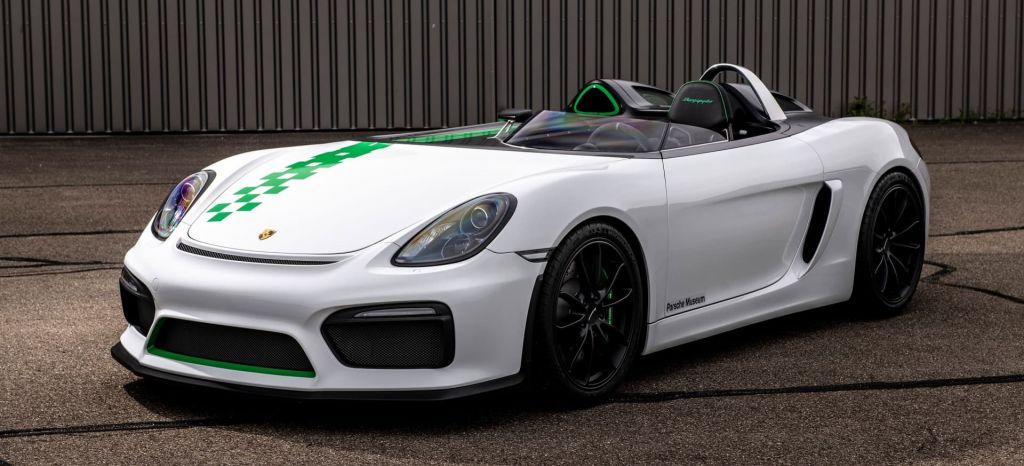 Porsche Boxster Bergspyder Portada thumbnail