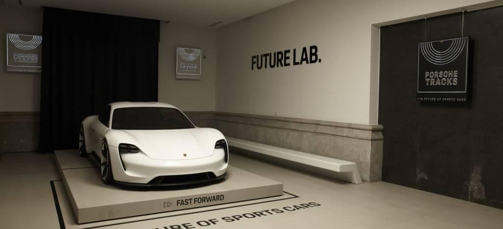 ¡El Porsche Mission E llega a España! Está en pleno centro de Madrid y puedes verlo del 15 al 30 de diciembre