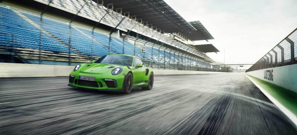 El Porsche 911 GT3 RS 2018, es ahora más potente: de casa al circuito y del circuito a casa con el mejor tiempo de la jornada