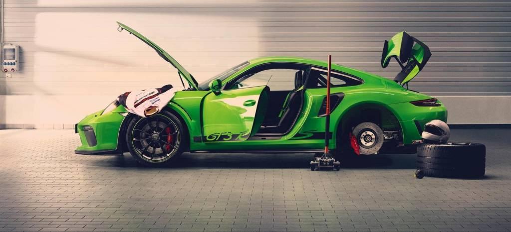 El nuevo Porsche 911 GT3 RS ya está rodando en menos de siete minutos en Nürburgring
