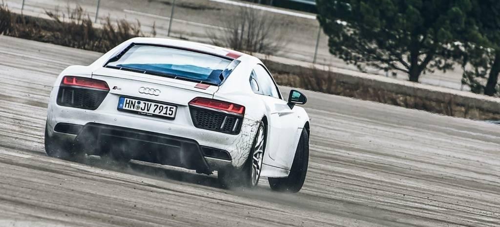 Prueba Audi R8 RWS: a los mandos del coche más divertido de Audi Sport (+Vídeo)