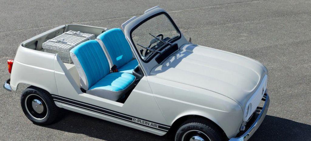 Vuelve el Renault 4L y ahora es un coche eléctrico