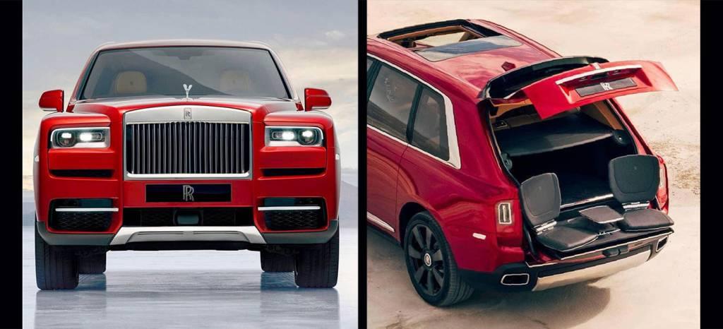 El Rolls-Royce Cullinan se filtra en estas 5 imágenes, ¡y tiene puertas suicidas!