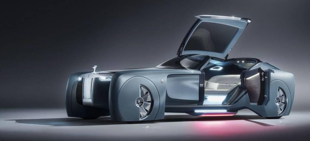 Rolls-Royce Vision Next 100 Concept: el lujo del futuro es eléctrico, autónomo y personalista