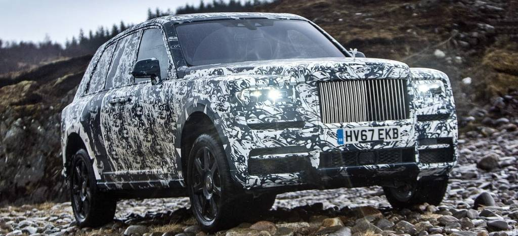 National Geographic convertirá el desarrollo final del Rolls-Royce Cullinan en un documental