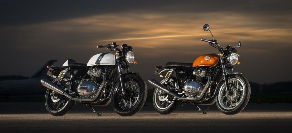Así son las nuevas motos de Royal Enfield, la Interceptor INT 650 y la Continental GT 650, clásicas y aptas para el carnet A2