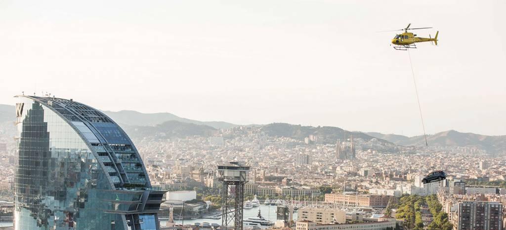 "Así sobrevoló Barcelona el SEAT Arona: la historia detrás de la ""pillada"" de la semana pasada (vídeo)"