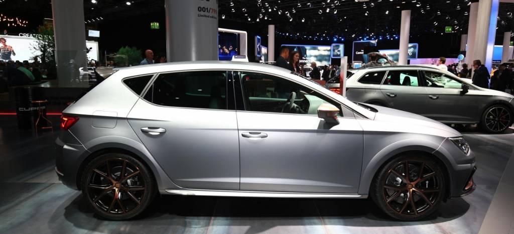 El SET León Cupra R se presenta en el Salón de Frankfurt con 310 CV, una nueva aerodinámica y una mejor puesta a punto