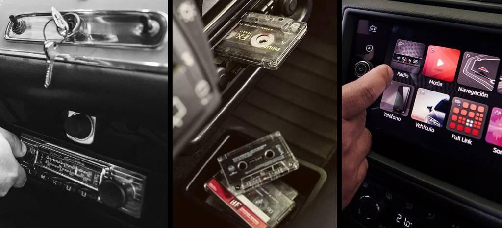 Del 600, al último Arona, SEAT nos muestra la evolución de la radio en sus coches