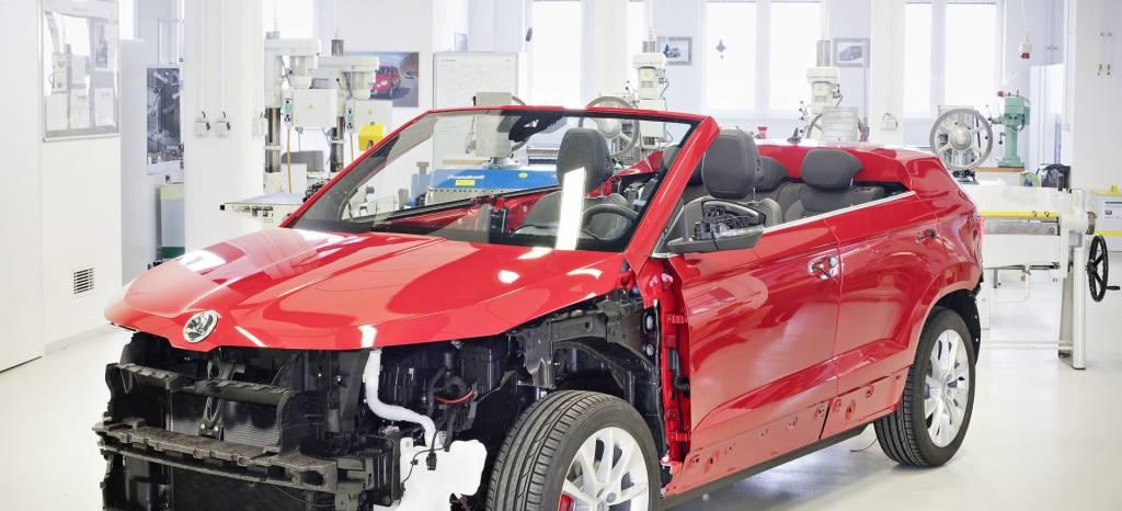 Saluda al Skoda Karoq Cabrio, ¿tiene sentido una alternativa al futuro Volkswagen T-Roc descapotable?