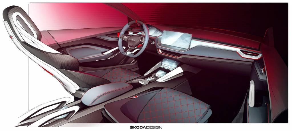 Skoda presentará junto al Kodiaq RS el futuro de sus coches más deportivos, y su interior con materiales veganos y sostenibles