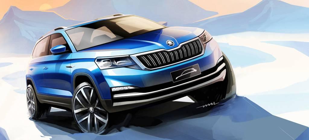 Como SEAT, Skoda tendrá un nuevo SUV, y este será su aspecto