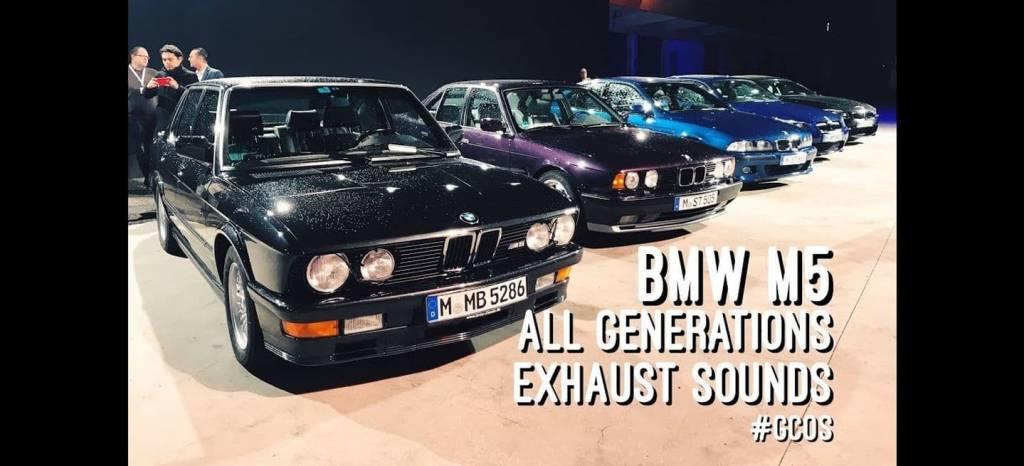 ¿Cuál de las seis generaciones del BMW M5 tiene un sonido más bonito?