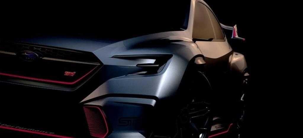 Saluda al próximo Subaru WRX STI, aún conceptual, entre sombras pero más salvaje que nunca y quizás… ¿híbrido?