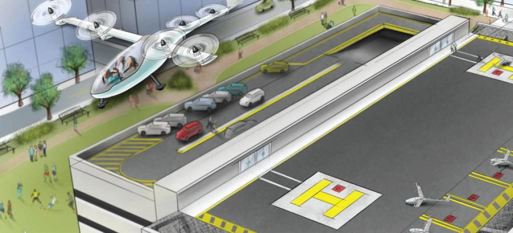 ¿Realidad o utopía? Uber quiere estrenar un servicio de taxis voladores… ¡En 2020!