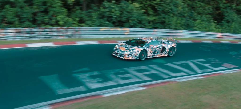 Vídeo téaser: el Lamborghini Aventador SVJ deja caer un nuevo récord en Nürburgring