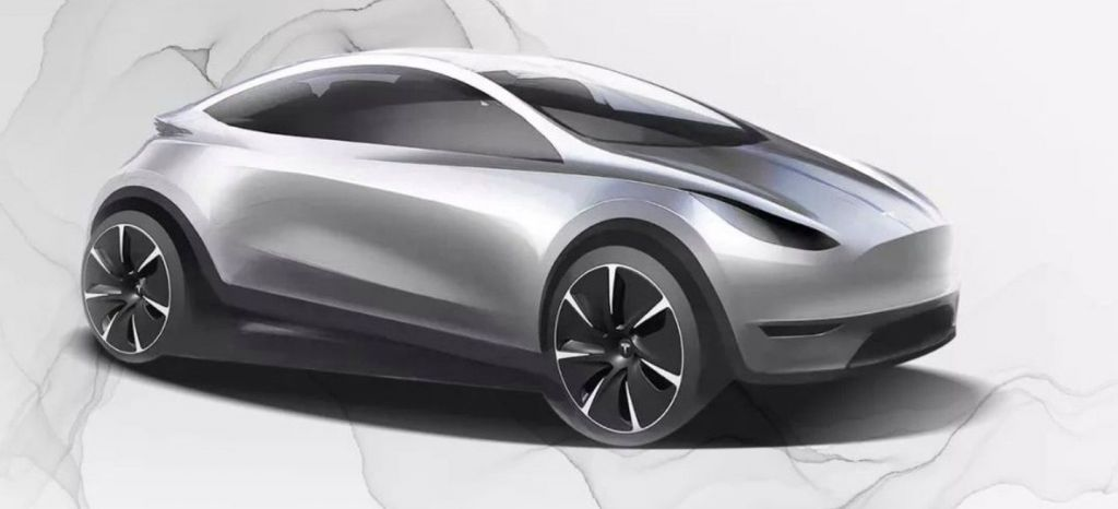Tesla Compacto China Boceto thumbnail