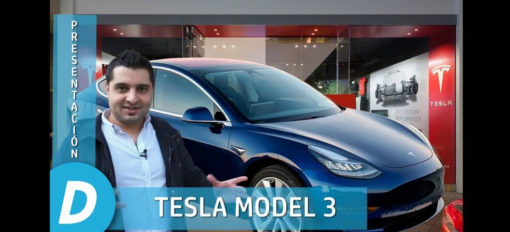 Primer contacto en vídeo con el Tesla Model 3: el nuevo coche eléctrico de Tesla ya está en España