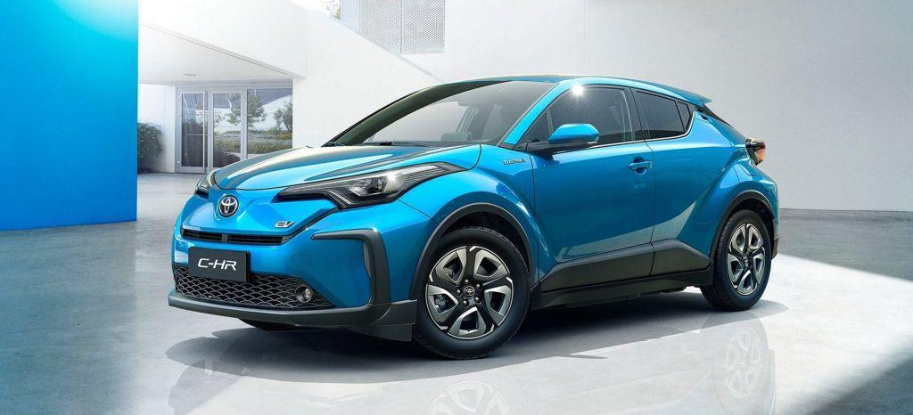 Toyota presenta un C-HR 100% eléctrico, pero no lo podrás comprar en Europa