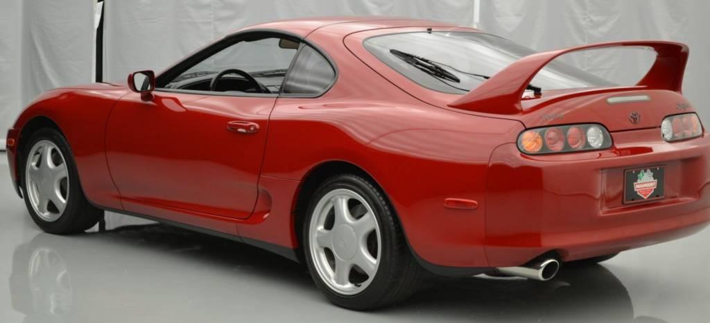 ¿Alguien ha dicho burbuja? Se pagan más de 100.000 euros por este Toyota Supra con 11.444 km