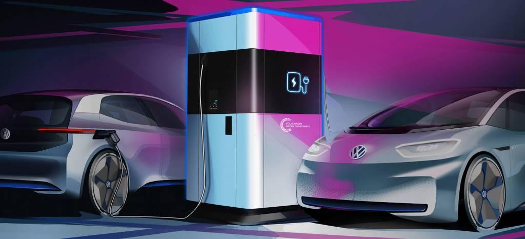 Volkswagen utilizará baterías de Tesla en sus puntos de recarga de coches eléctricos