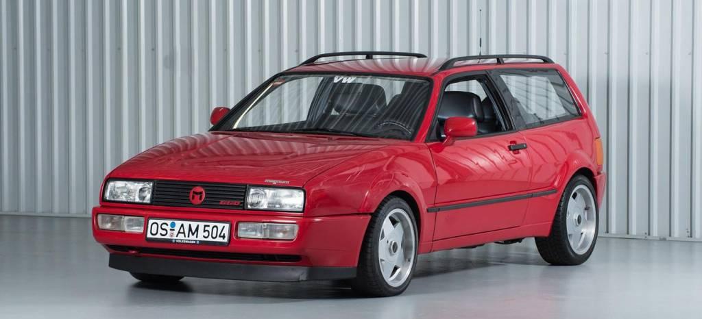"""La increíble historia del Corrado Magnum """"shooting-brake"""" que Volkswagen jamás comercializó"""