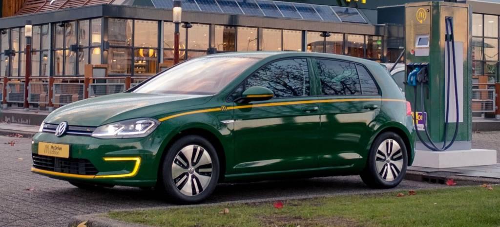 No es una broma: así es el Volkswagen Golf McDrive Edition, un one-off benéfico desarrollado junto a McDonald's